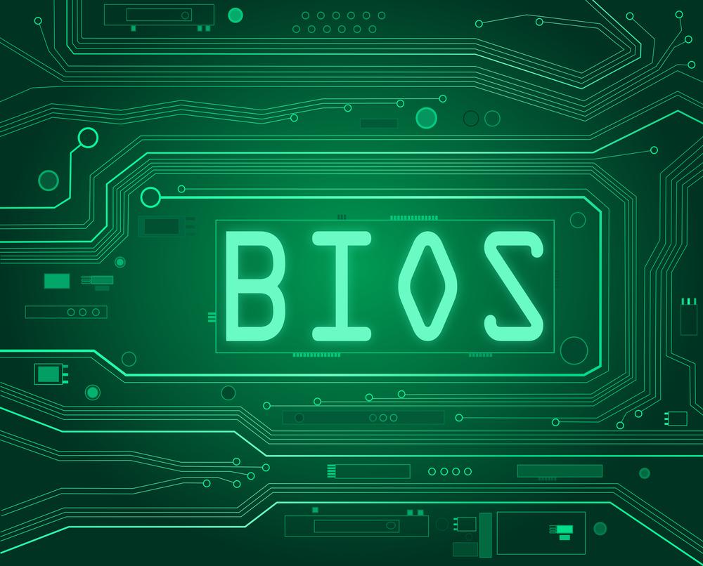 Очистка диска при помощи биос
