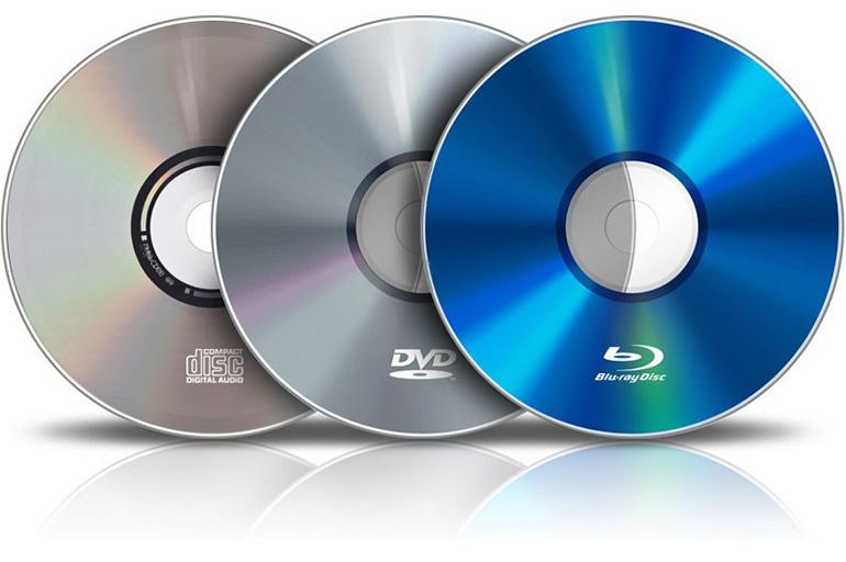 Форматы дисков