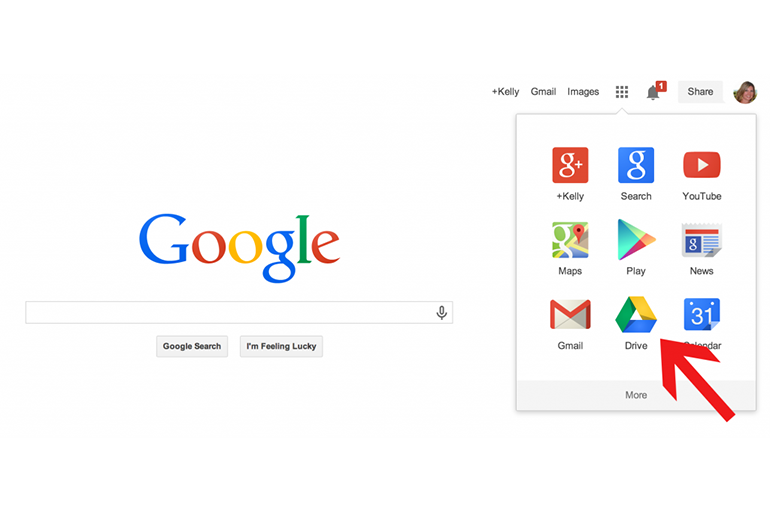 Гугл Диск в Хроме