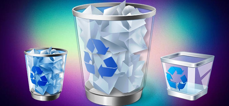 Как восстановить удаленные файлы из корзины